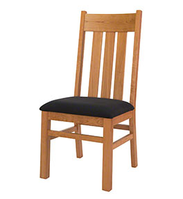 Modern Mission Cherry Dining Chair