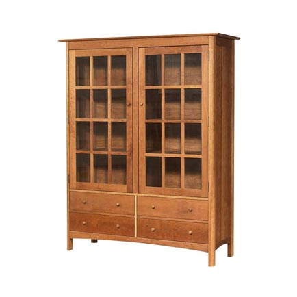 Shaker China Cabinets, Buffets, & Hutches - Vermont Woods Studios