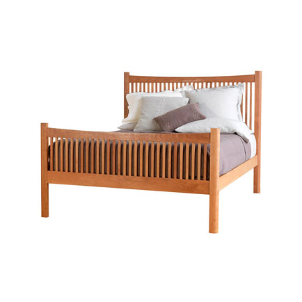 Modern Shaker High Footboard Bed