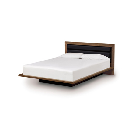 Moduluxe Platform Bed with Upholstered Headboard - 35