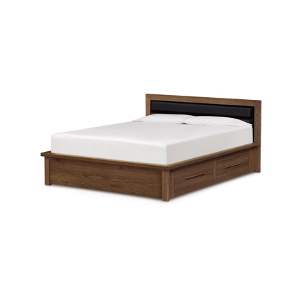 Moduluxe Storage Bed with Upholstered Headboard