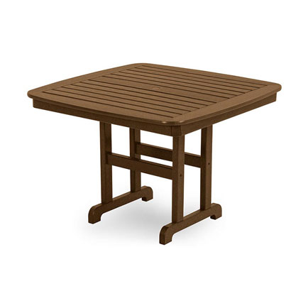Nautical 44 Square Dining Table