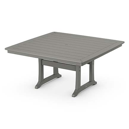 Nautical Trestle 59 Dining Table