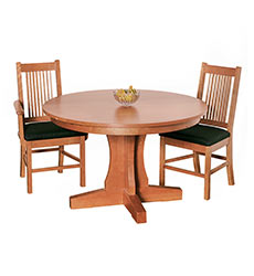 New Traditions Round Pedestal Table