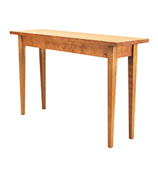 New England Shaker Tapered Leg Sofa Table