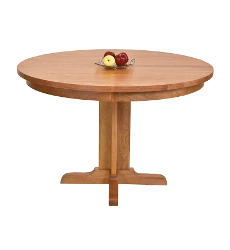 Single-Leg Round Pedestal Table
