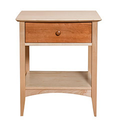 Norwich Cherry & Maple Nightstand