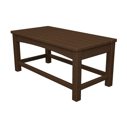 Outdoor 17 x 35 Rectangular Coffee Table