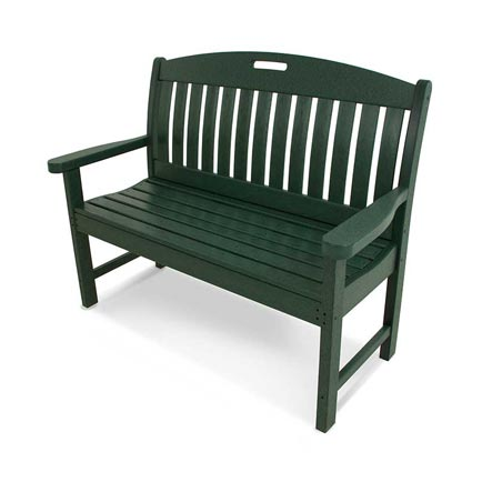 "Nautical 48"" Park Bench"