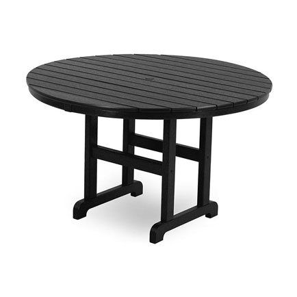 Outdoor 48 Round Dining Table