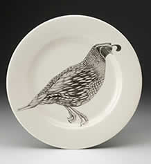 Charger Plate - Quail
