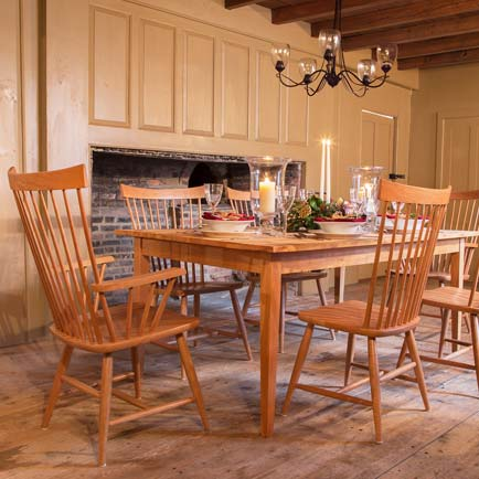 Reclaimed Barnwood Cherry Dining Set