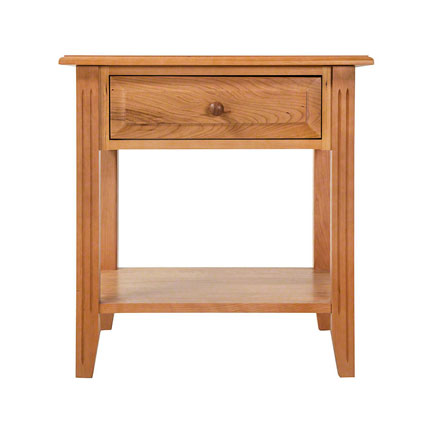 Renfrew Shaker 1-Drawer Open Shelf Nightstand