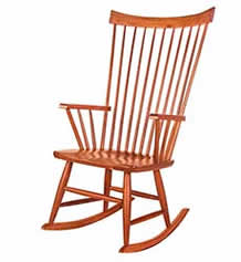 Windsor Rocking Chair - In Stock