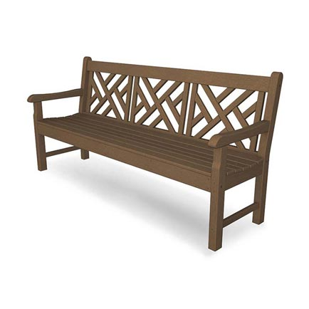"Rockford 72"" Chippendale Park Bench"