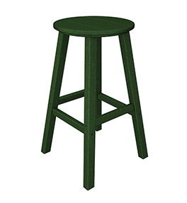 Outdoor Traditional Round Bar Stool