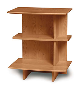 Sarah Open 3 Shelf Nightstand