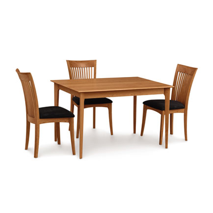 solid wood kitchen & dining tables - vermont woods studios Cherry Dining Table