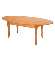 Classic Shaker Oval Coffee Table