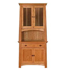 Cherry Moon Small China Cabinet & Sideboard 38