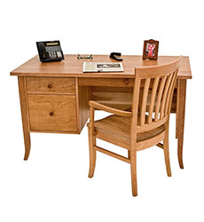 Small Wood Executive Desk