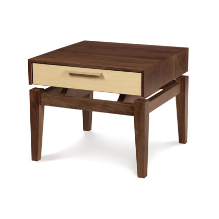 Soho 1 Drawer Low Nightstand