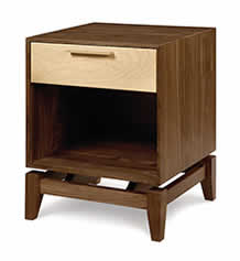 Soho 1 Drawer High Nightstand
