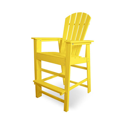 South Beach Outdoor Adirondack Bar Chair
