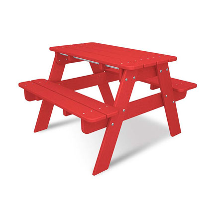 Kids Picnic Table by Polywood