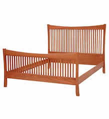 Brandon Cherry Spindle Bed