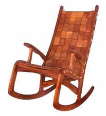 Custom Quilted Vermont Rocking Chair