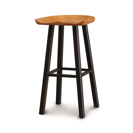 Modern Farmhouse Cherry Tractor Seat Counter Stool