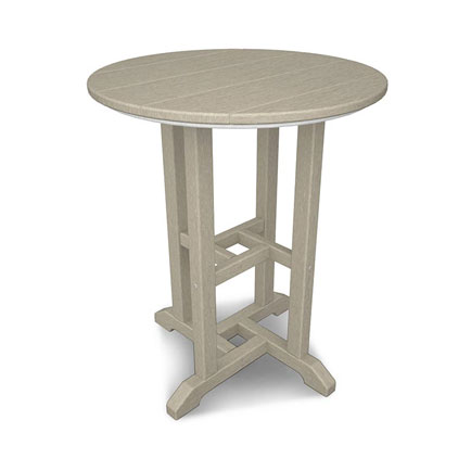 Traditional 24 Round Dining Table