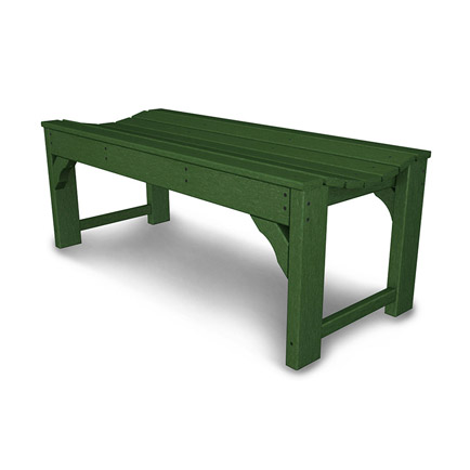 "Traditional Garden 48"" Backless Bench"