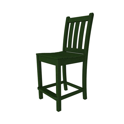 Traditional Garden Outdoor Counter Side Chair