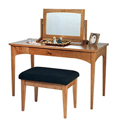 New England Shaker Ladies Dressing Table