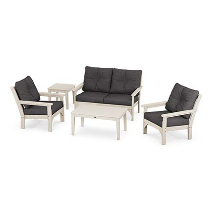 Vineyard 5-Piece Deep Seating Set