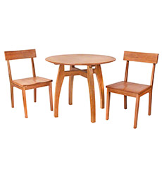 Small Vermont Modern Dining Set
