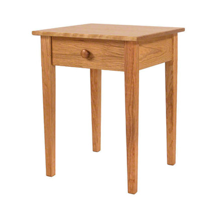Vermont-Made Shaker Bedside Table - In Stock