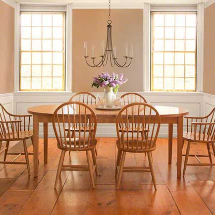 Vermont Shaker Oval Dining Set
