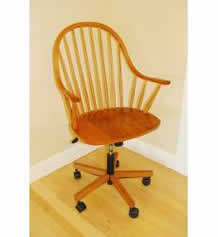 Cherry Windsor Office Chair - clearance