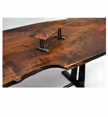 Large Custom Wood Slab Table