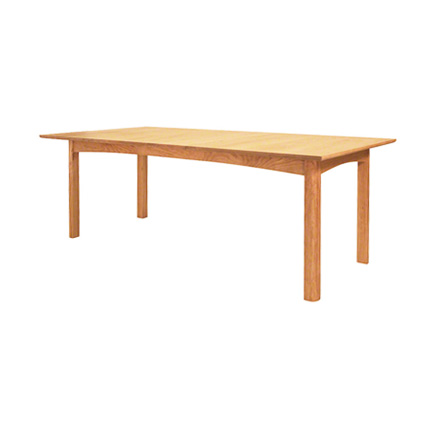 Woodland Custom Dining Table in Cherry by Vermont Furniture Designs