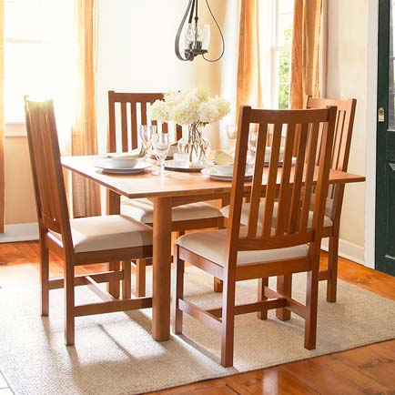Woodland Square Dining Set