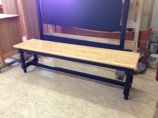 Farm Table Bench Construction