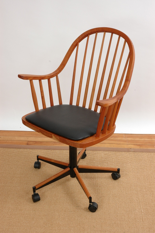 Solid Wood Office Chair