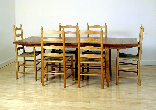 Solid Wood Chair Set