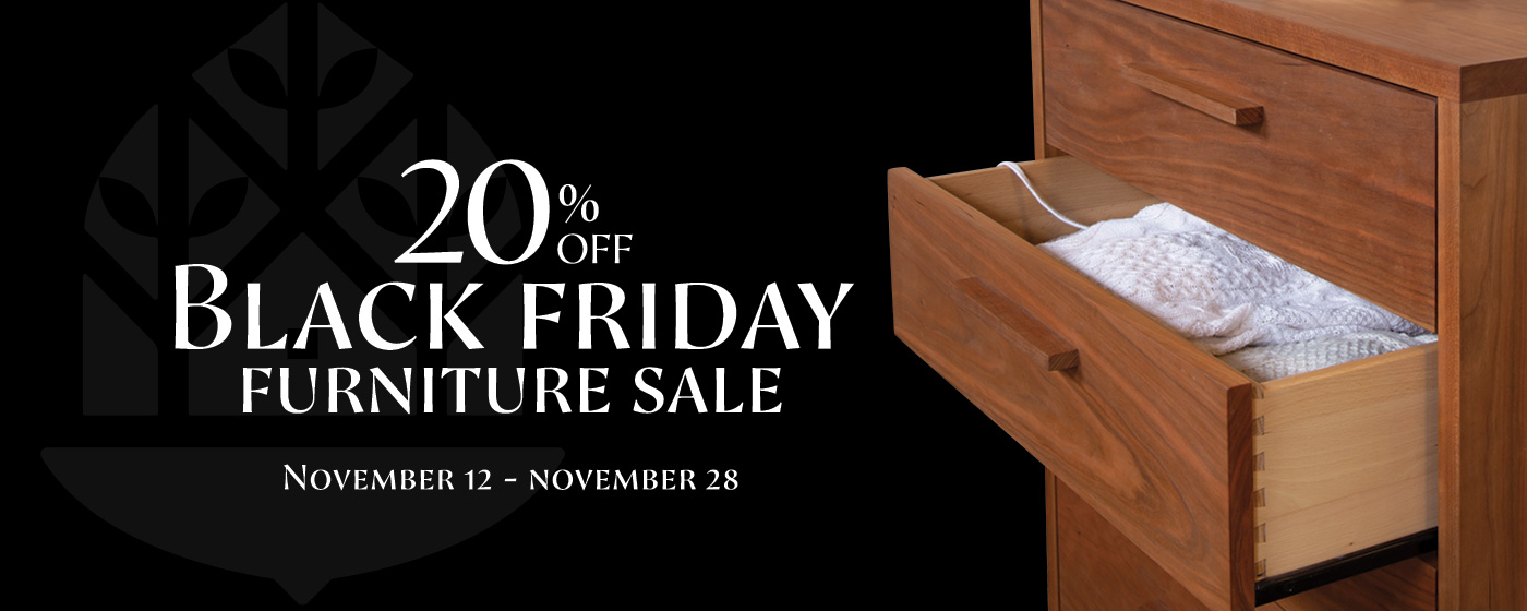 Black Friday Furniture Sale | Natural Solid Wood Furniture Made in USA