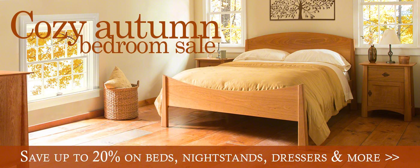 Early Fall Bedroom Sale