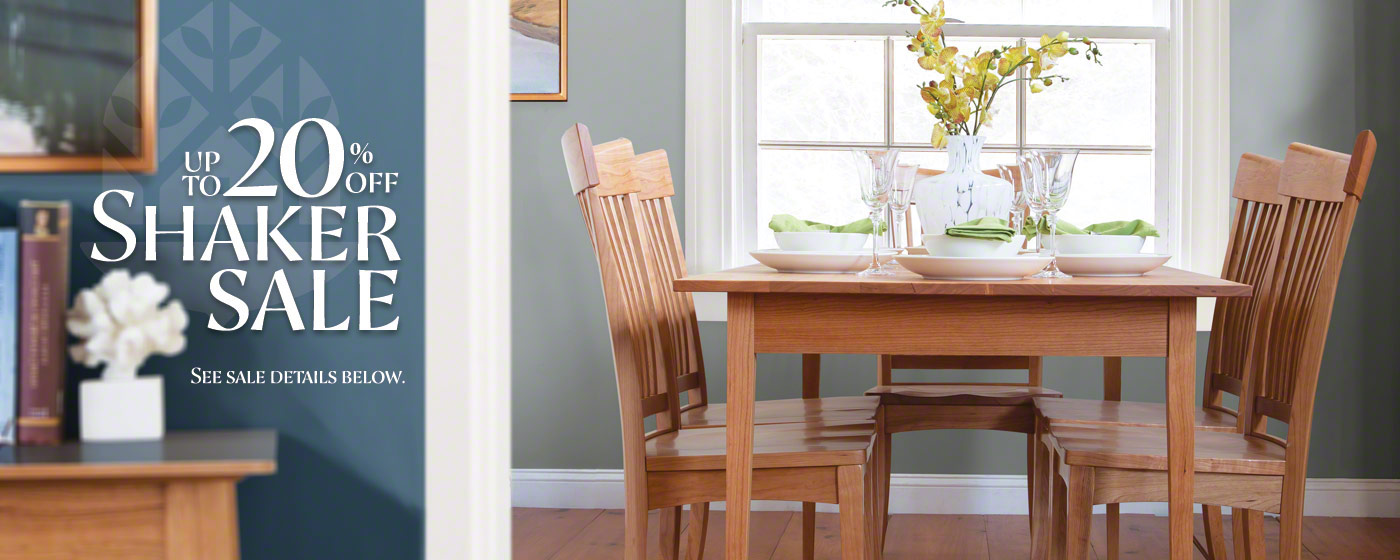 Shaker Furniture Sale